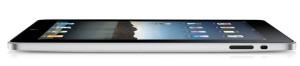 Diseño ultradelgado del iPad